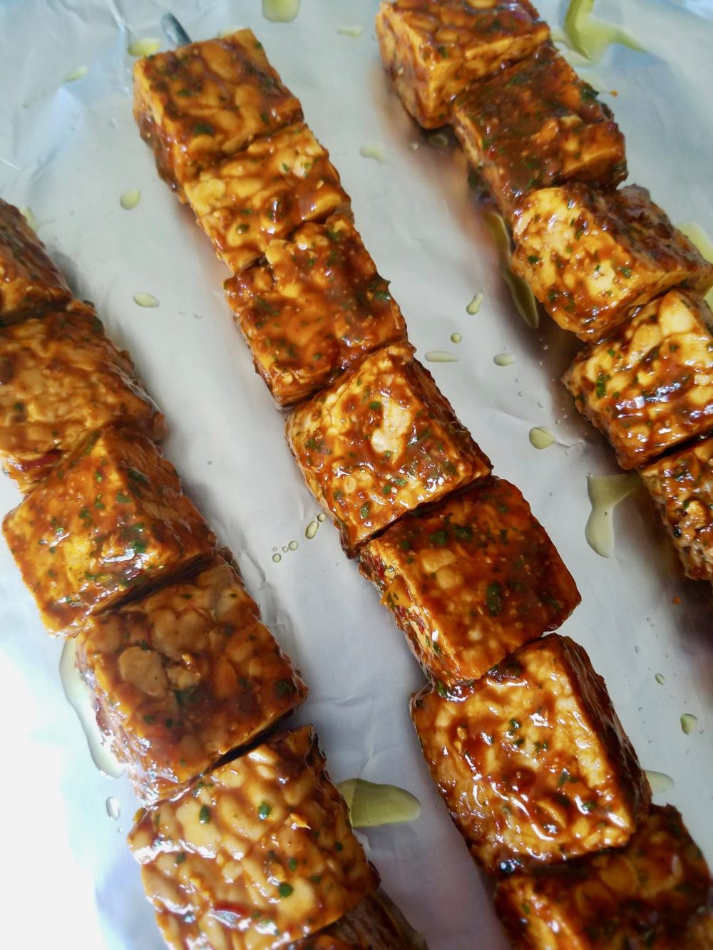 Vegan Kebab Skewers Recipe