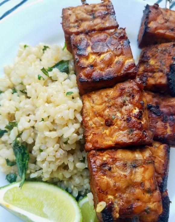 Tempeh Kebab Recipe