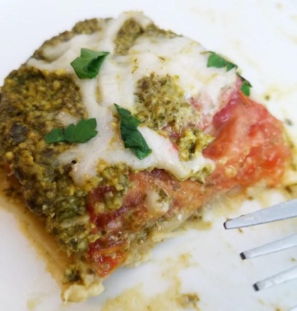 Vegan Pesto Lasagna Recipe