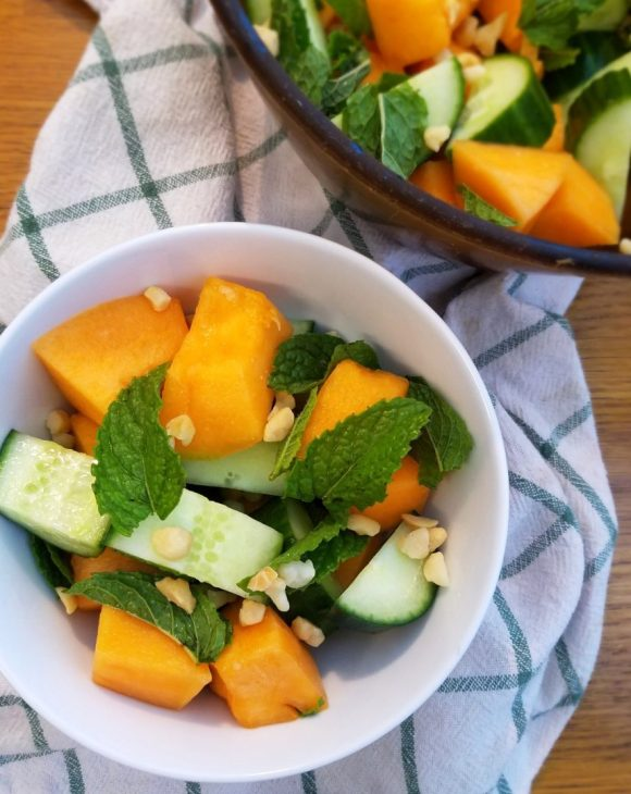 Cucumber cantaloupe recipes