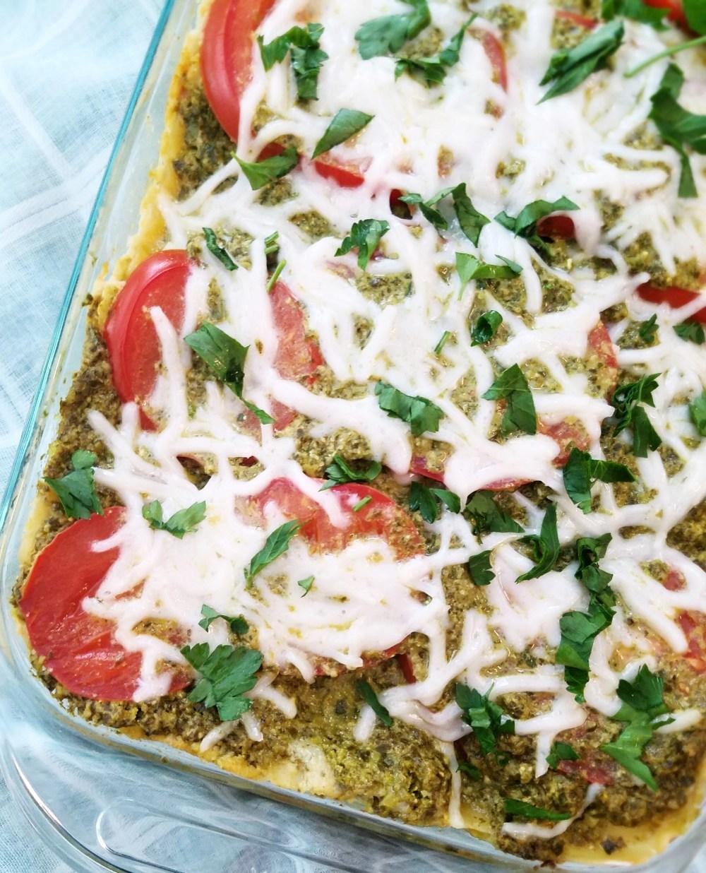 Basil Pesto Vegan Lasagna Recipe
