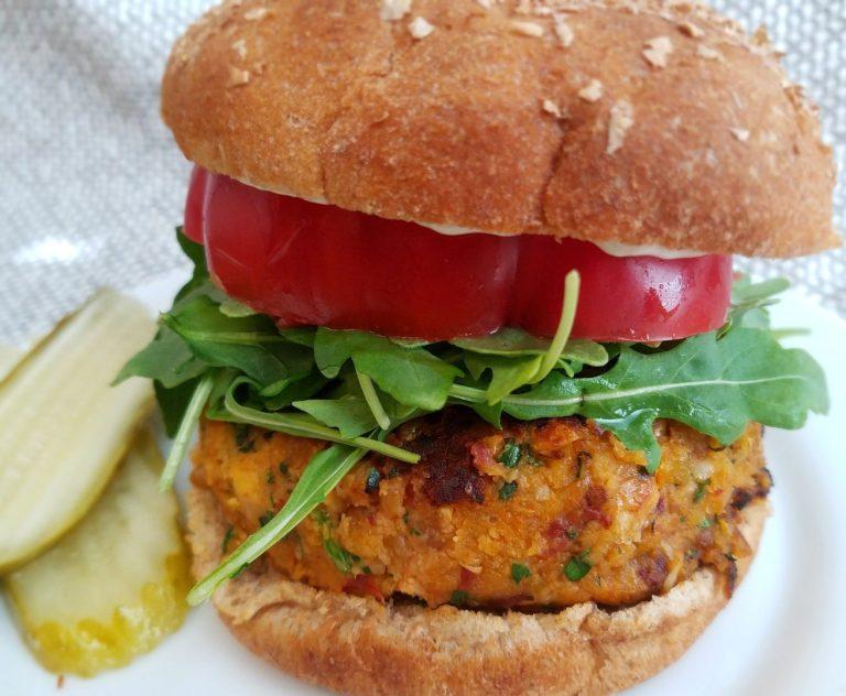 Best vegan chickpea burger recipe