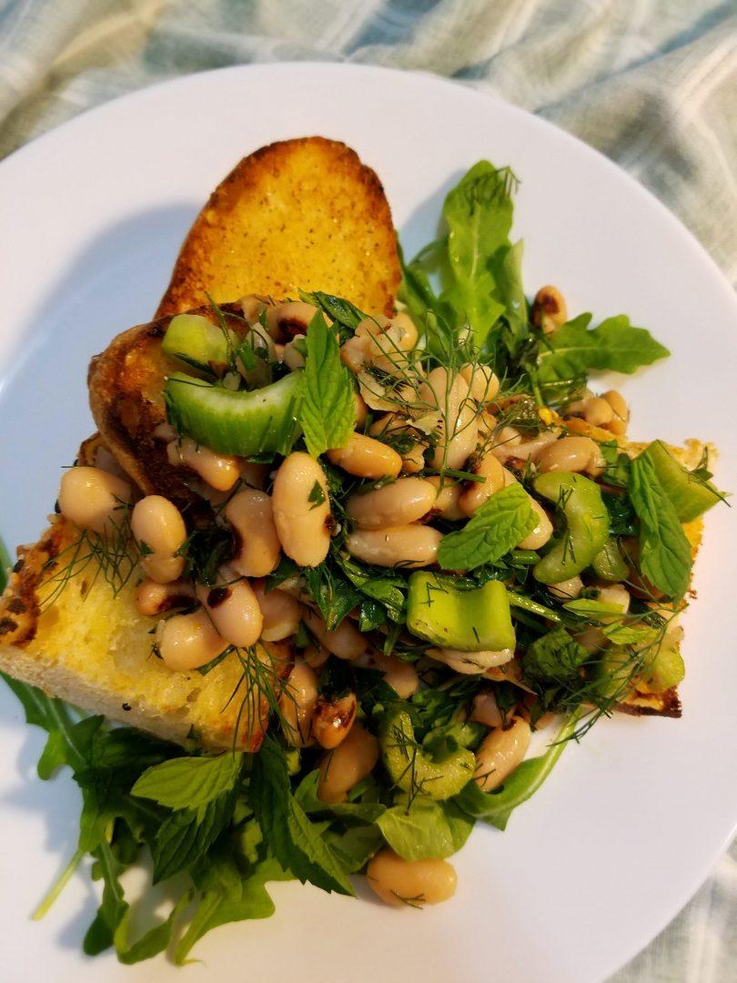 Black Eyed Pea Salad Vegan