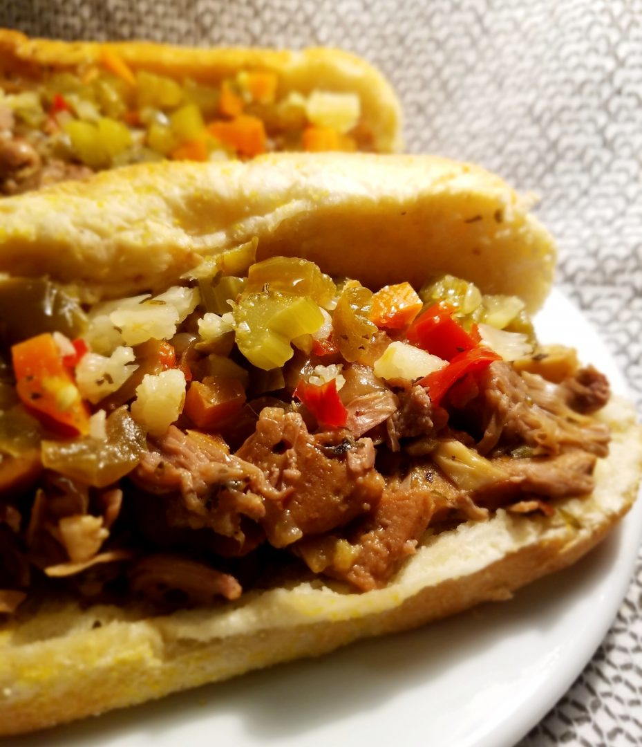 Vegan Italian Beef Sandwiches