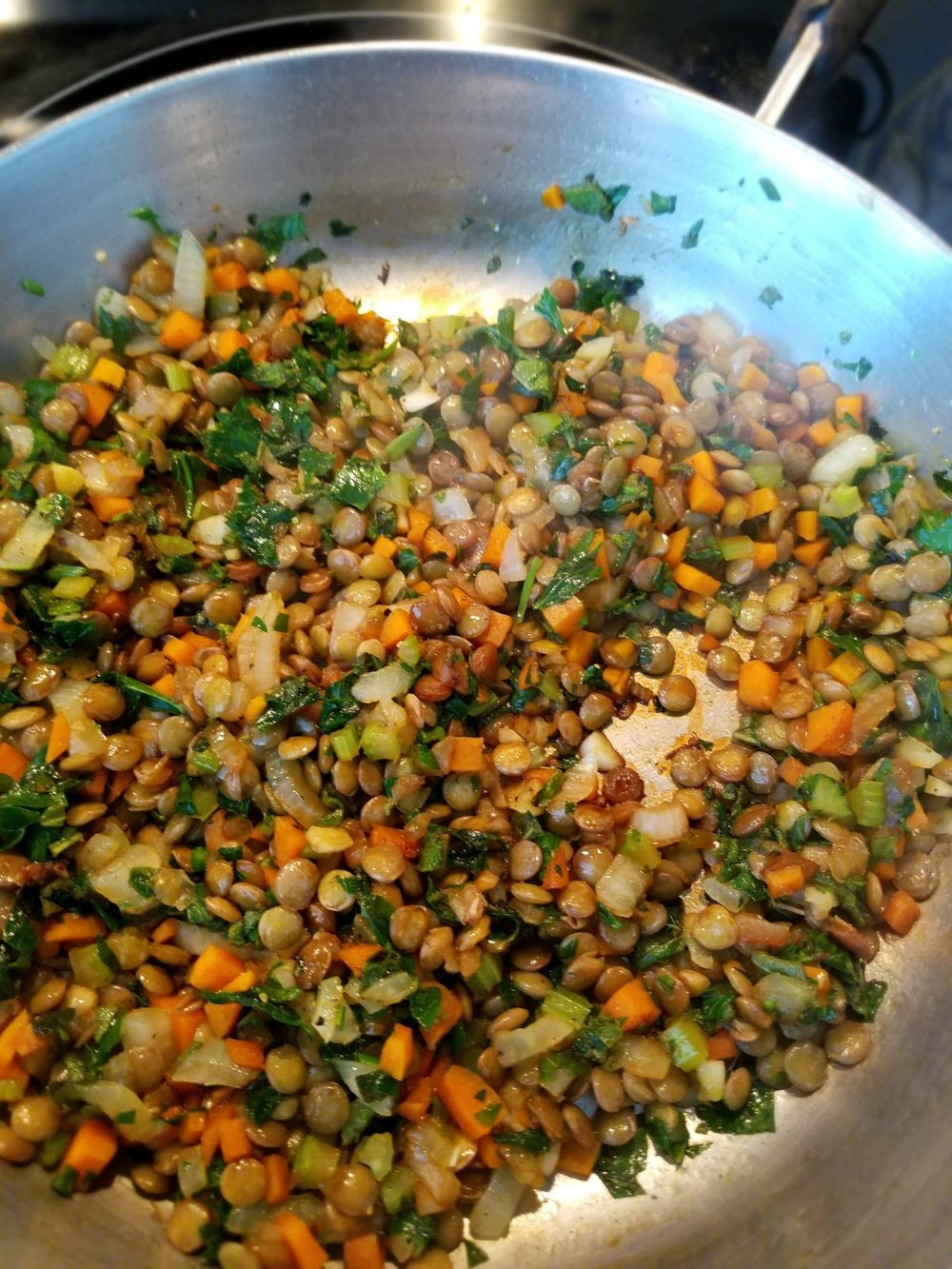 Homemade vegan lentil loaf recipe