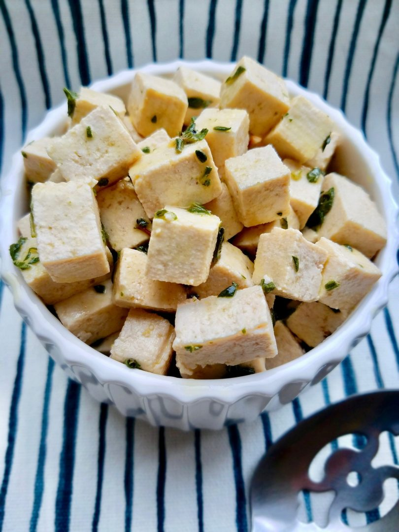 Vegan Feta without coconut oil