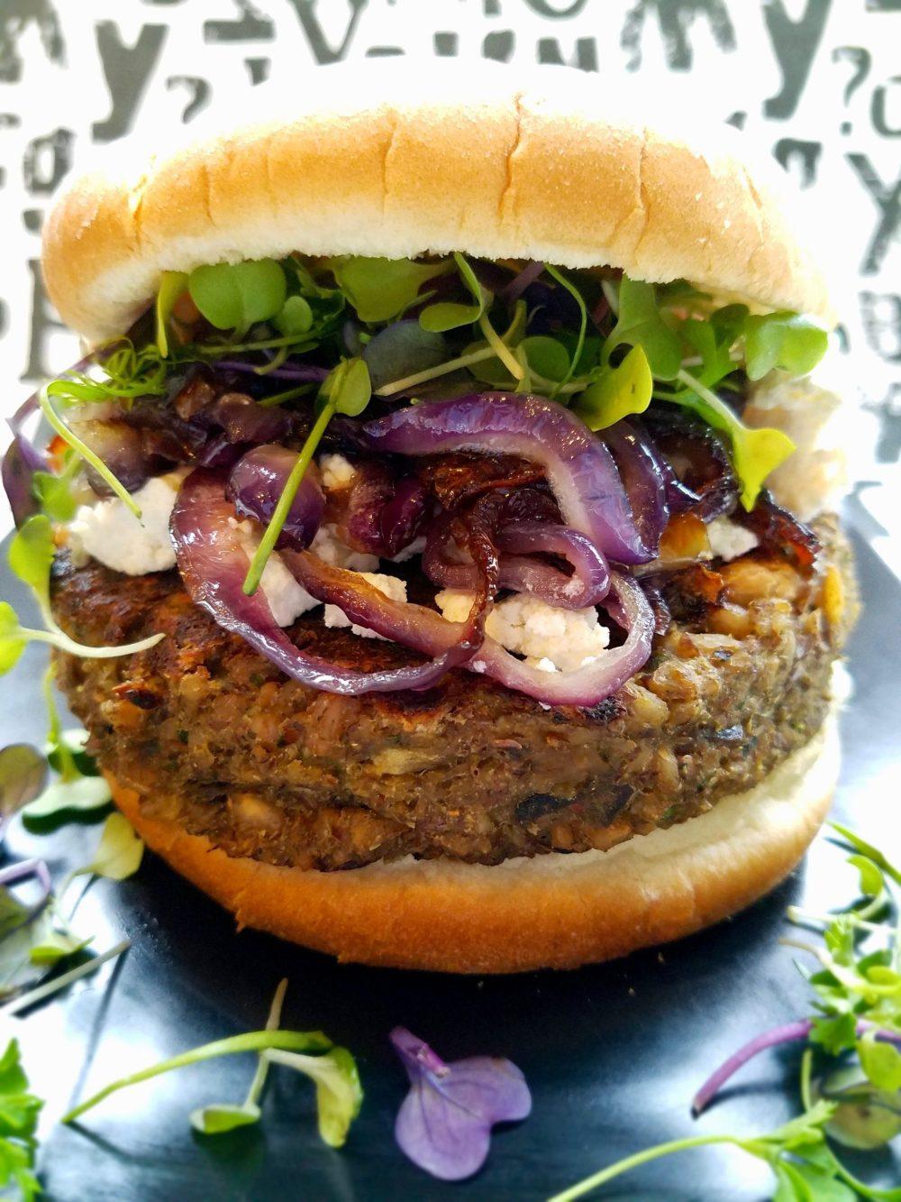 Farro Veggie Burger Recipe