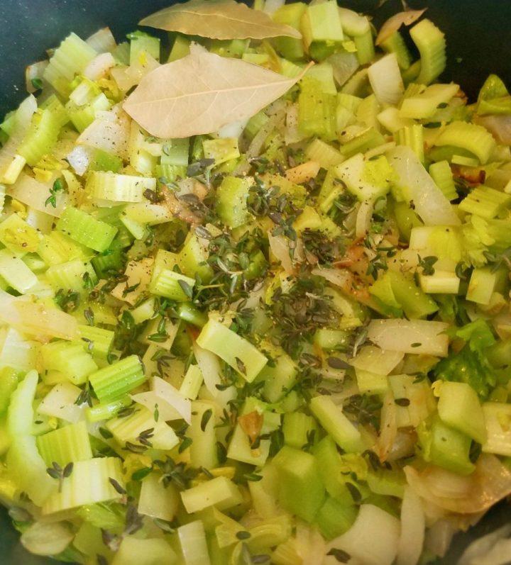Cream of Celery Soup Vegan