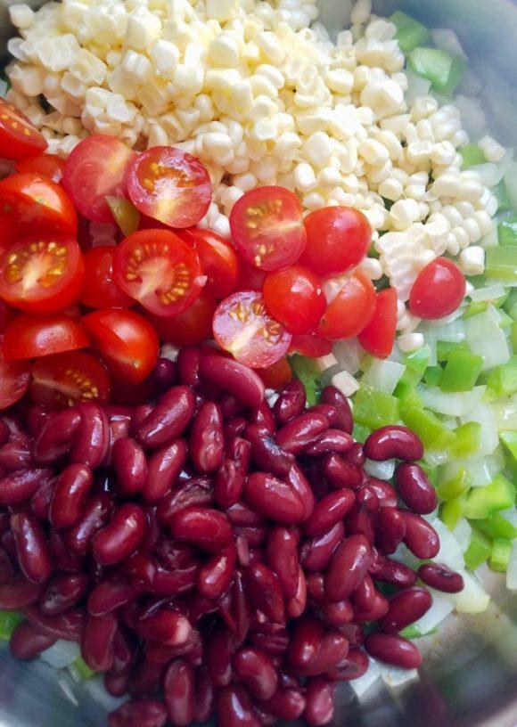 Vegetarian Easy Succotash Recipe