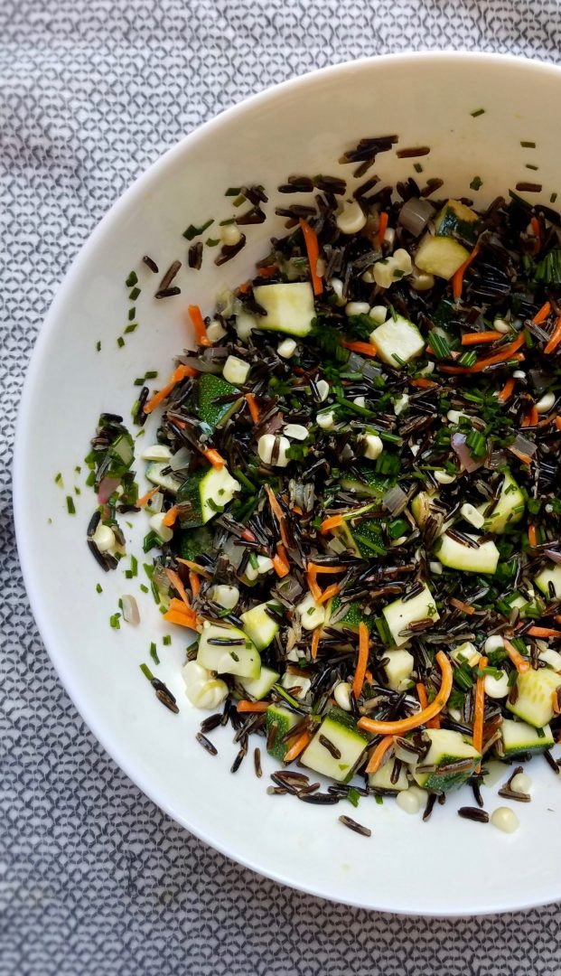 Vegan Wild Rice Salad Recipe