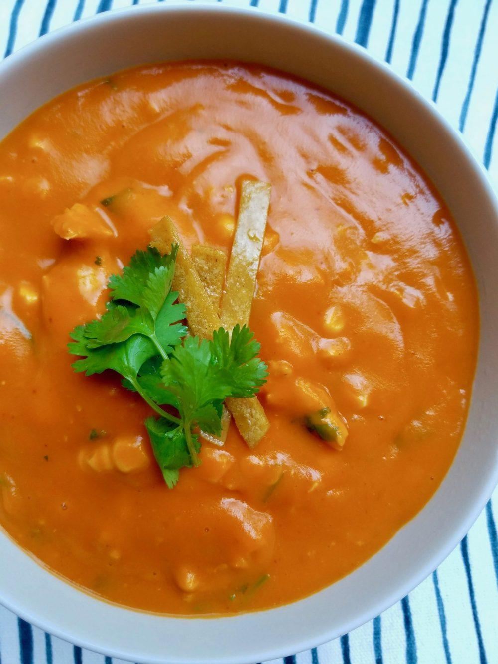 Tortilla Soup Recipe No Meat