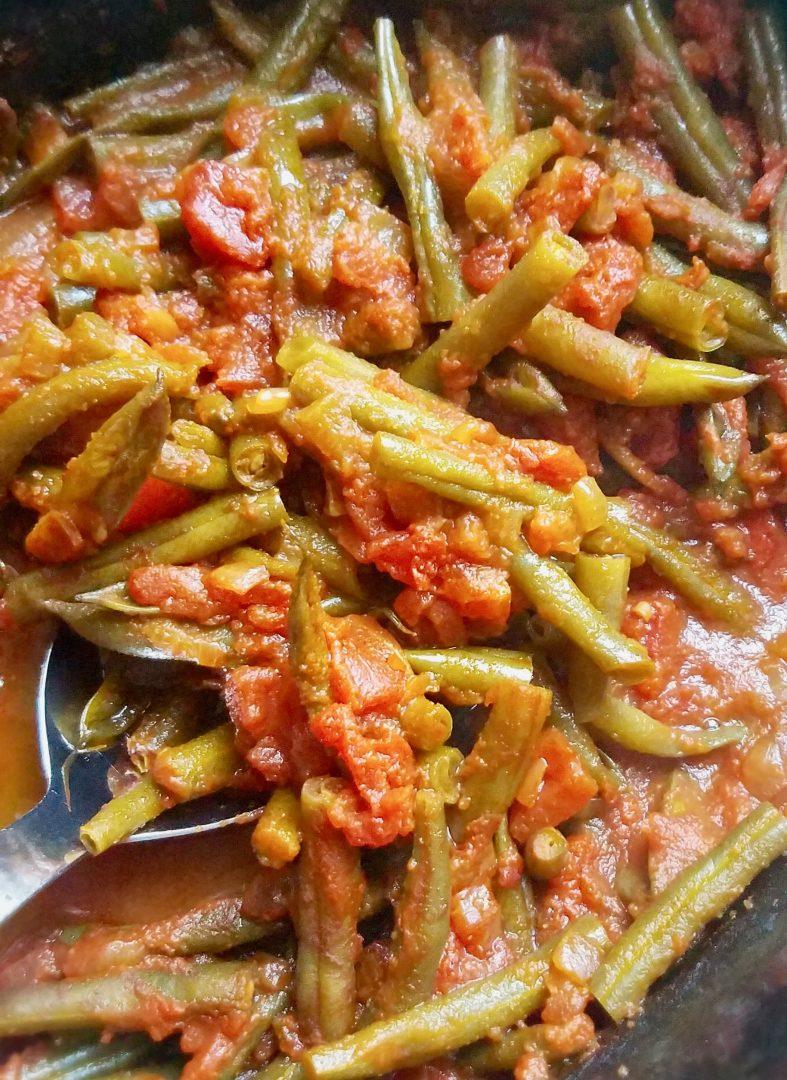Slow Cooker Green Beans Vegetarian