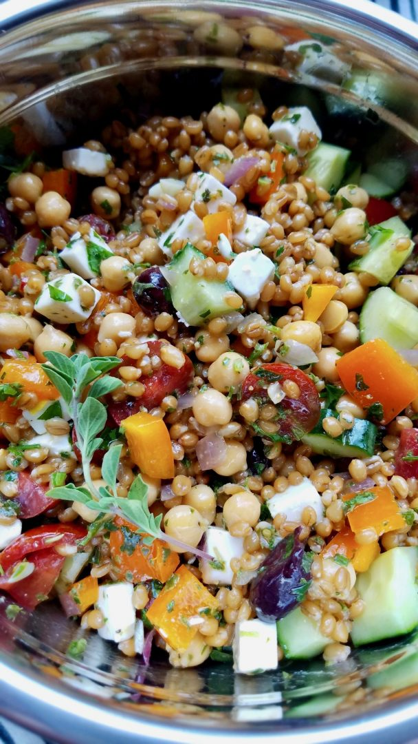 Vegan Recipes with Wheat Berries