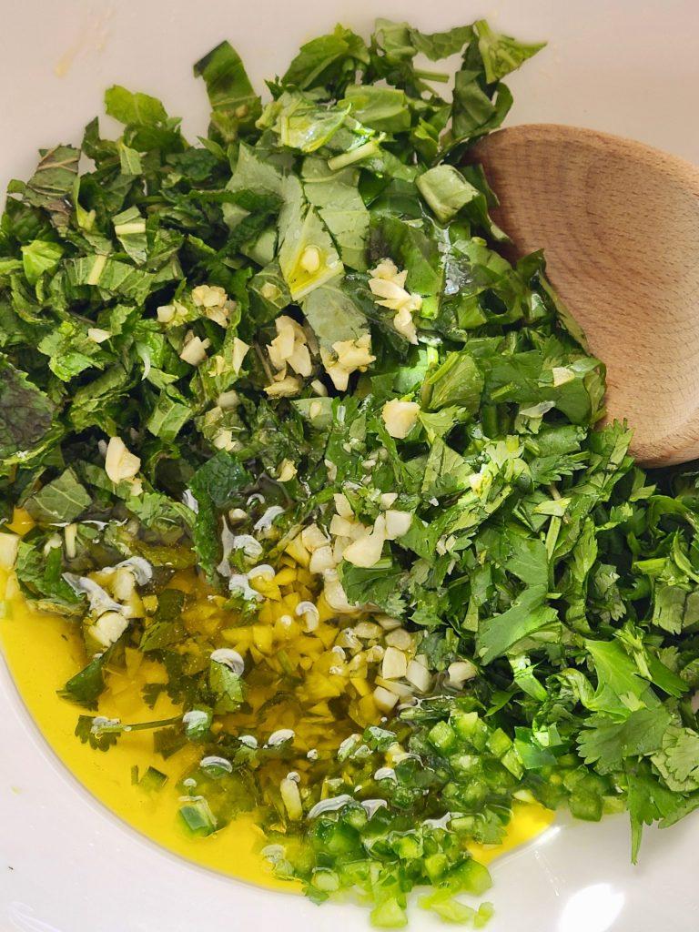 Recipe for Fresh Herb Vinaigrette Dressing