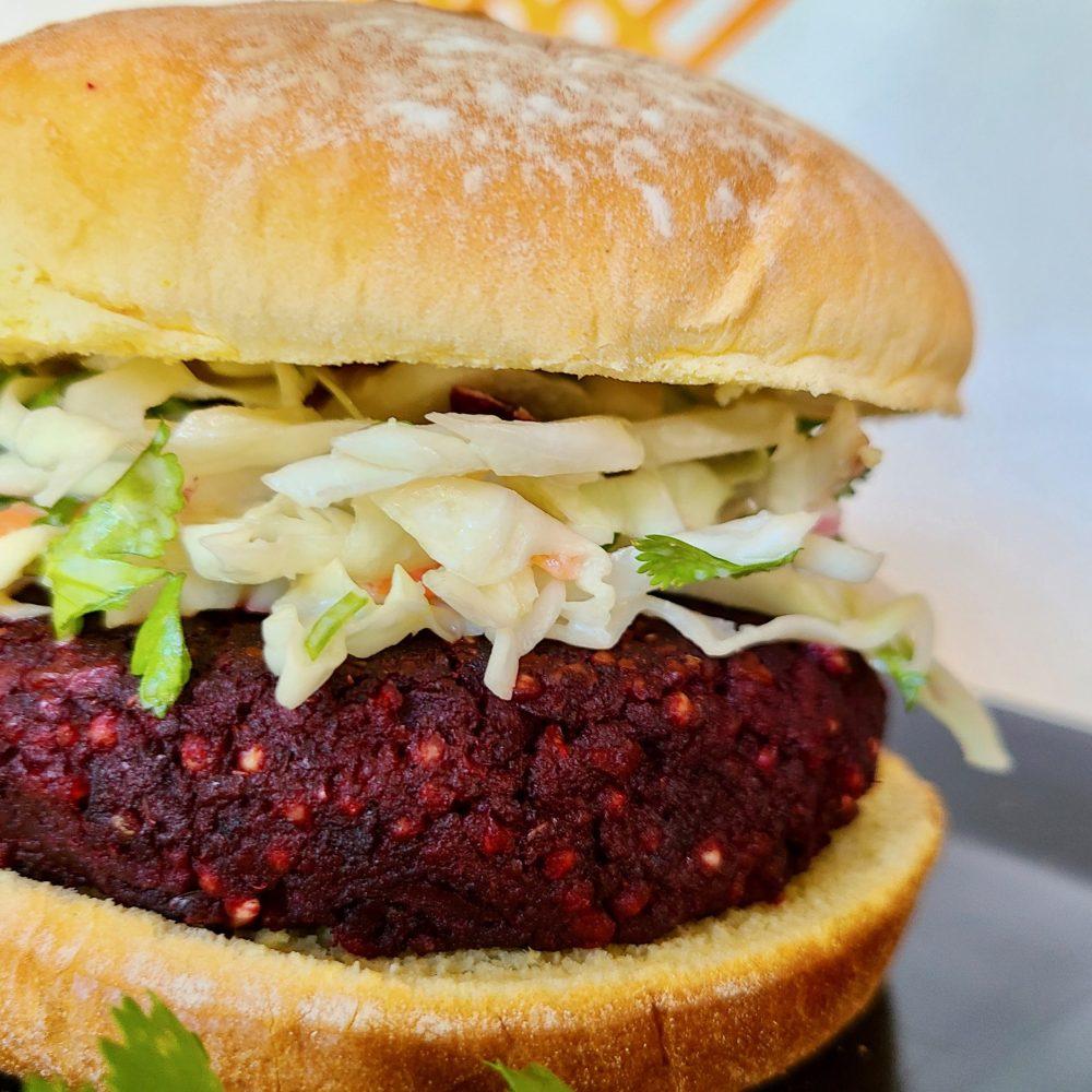 Beet Walnut Burger Recipe