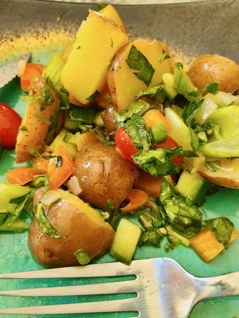 Potato Salad with Lemon and Olive Oil