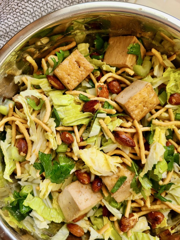 Asian Coleslaw Recipe with Cilantro