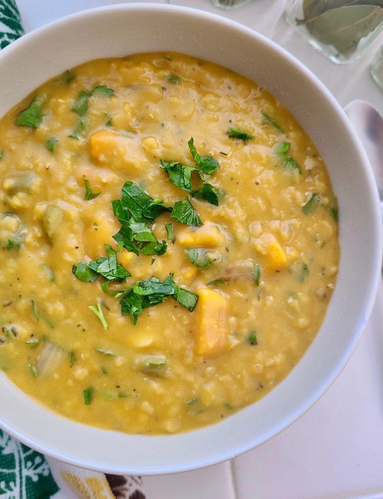 Recipe for Vegan Red Lentil Soup