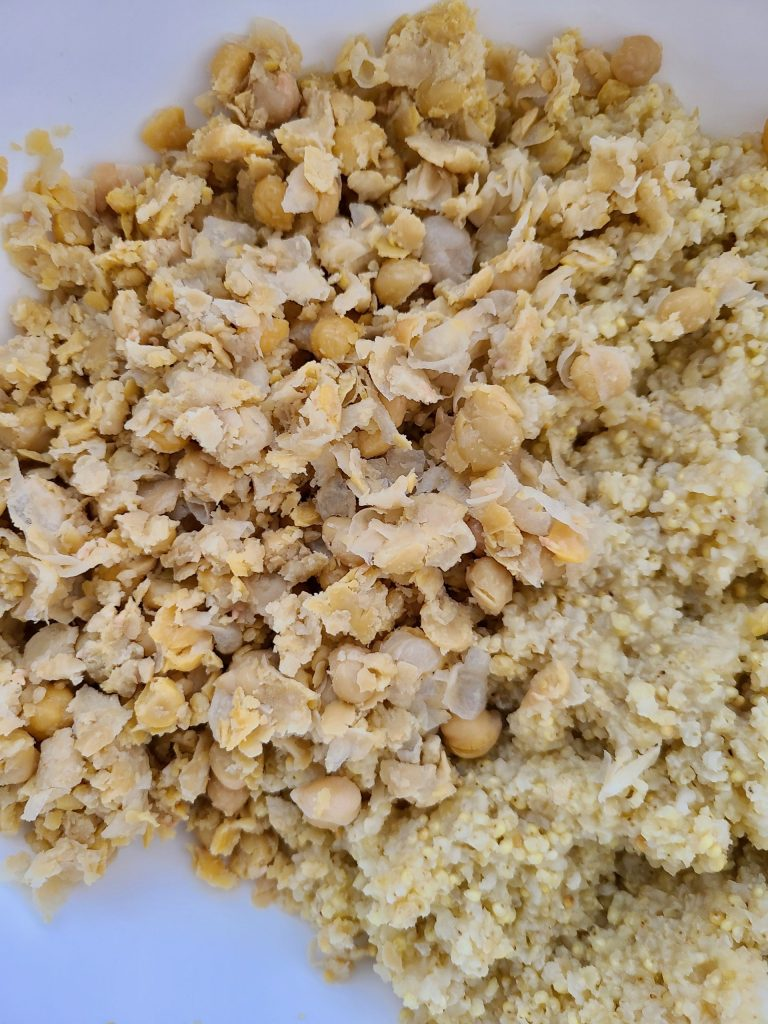 Chickpeas and Millet