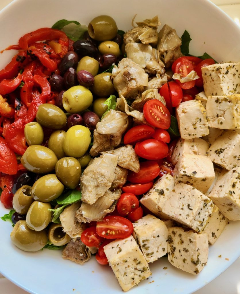Vegan Antipasto Salad