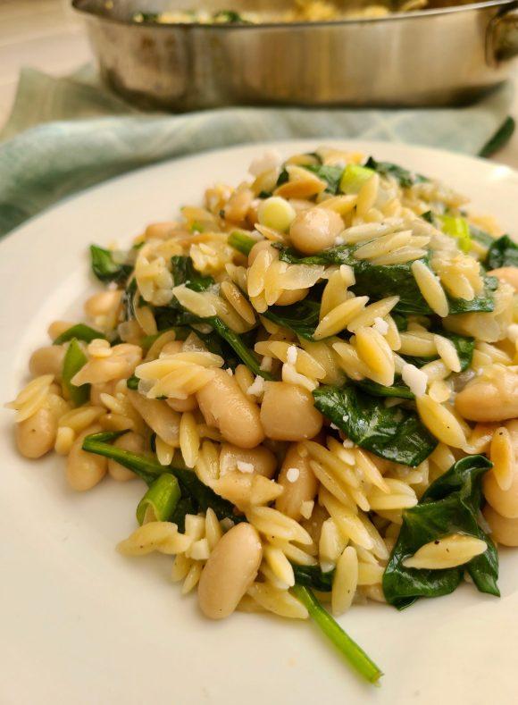 Vegan Bean Orzo Recipes