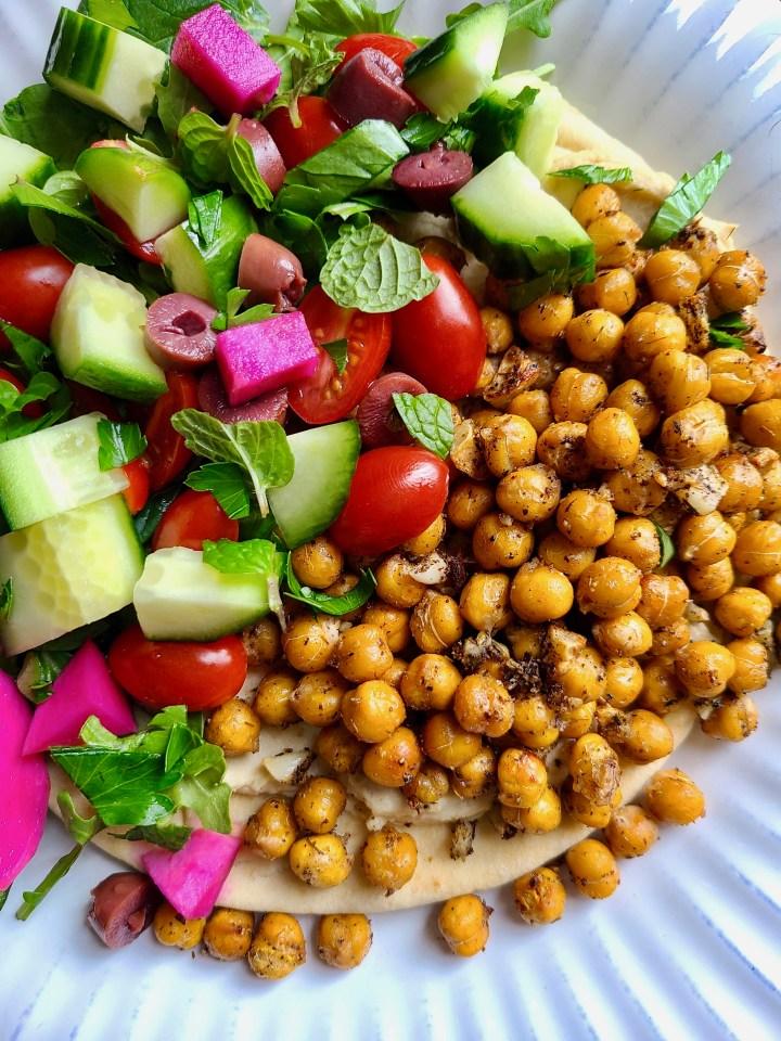 Vegan Recipes with Za'atar