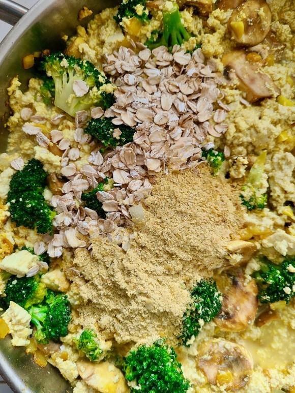Vegan Tofu Scramble Nutritional Yeast