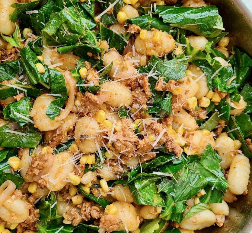 Gnocchi Sweet Corn Vegan