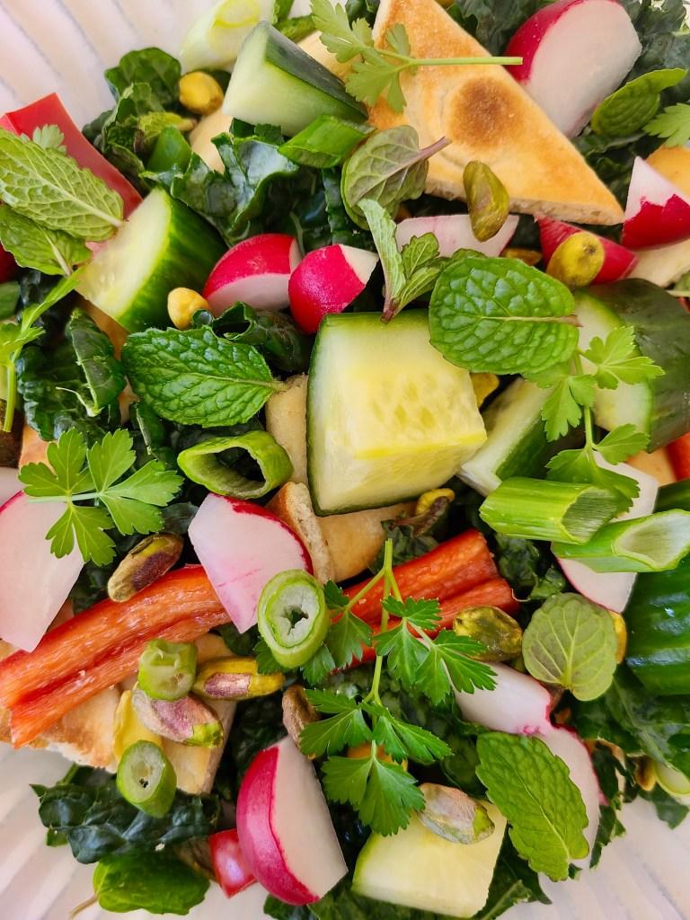 Kale Salad Vegan Recipe