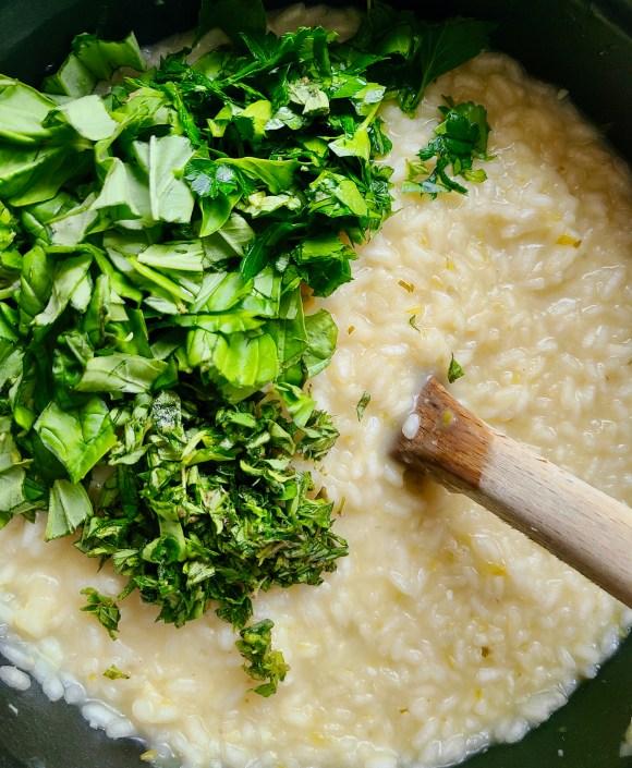 Recipe for Creamy Vegan Risotto