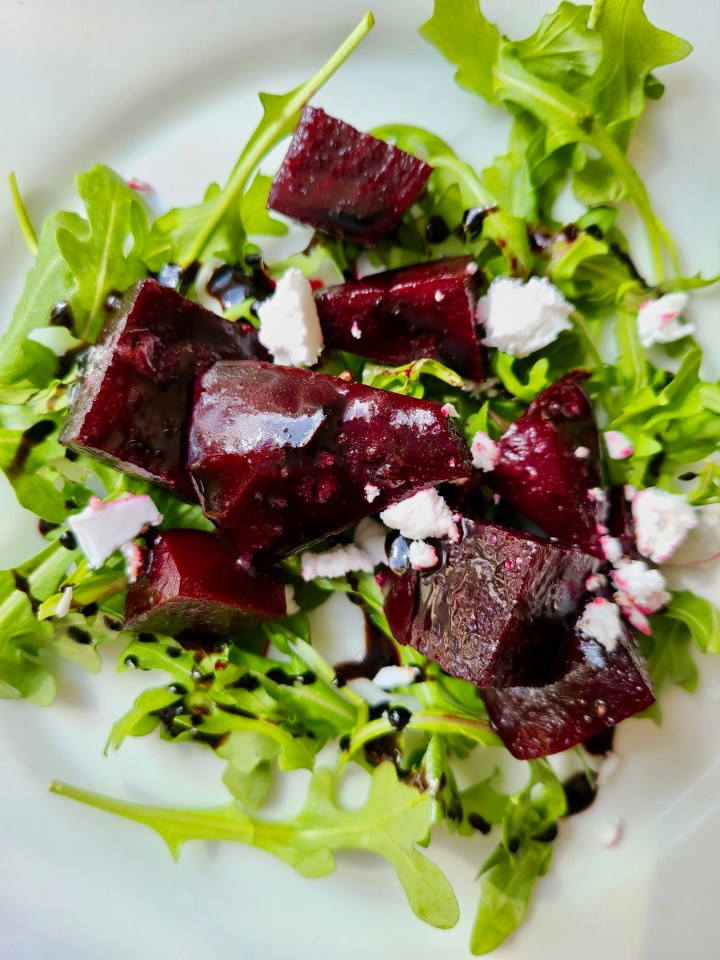 Vegan Balsamic Reduction for Beets