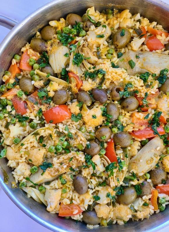 Vegan Paella Recipe Saffron