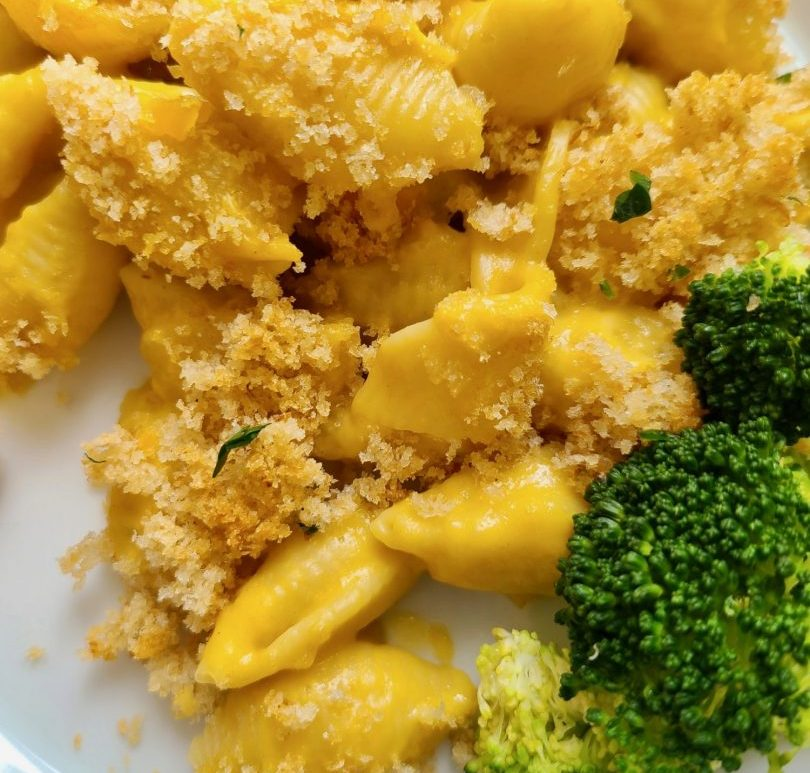 Vegan Breaded Mac and Cheese Recipe