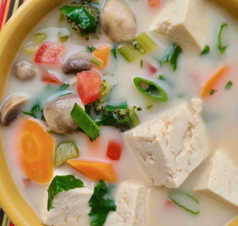 Vegan Thai Coconut Soup Recipe