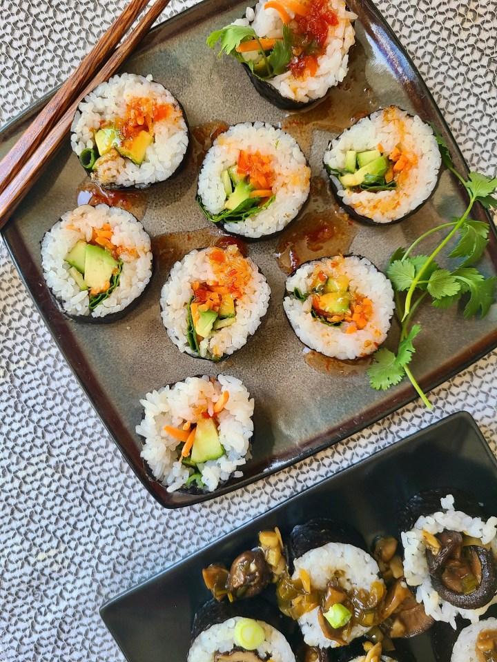 Vegan Sushi Recipes Easy