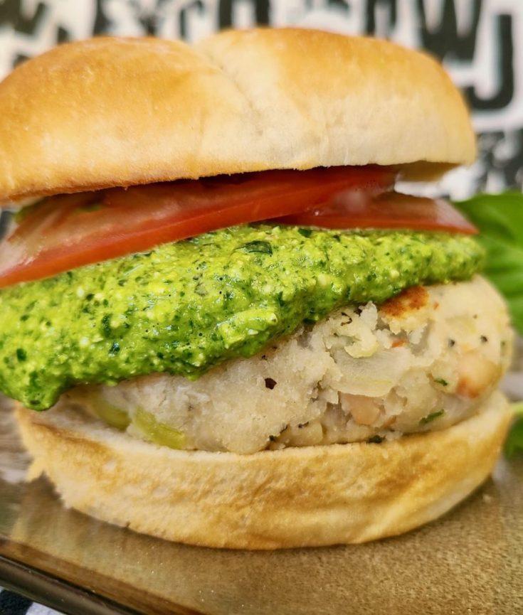 Italian Veggie Burger Recipe