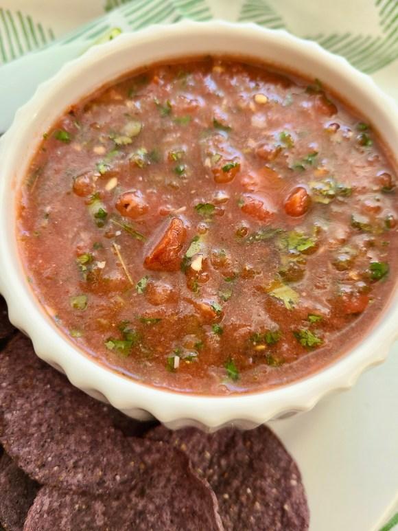 Watermelon Vegan Salsa