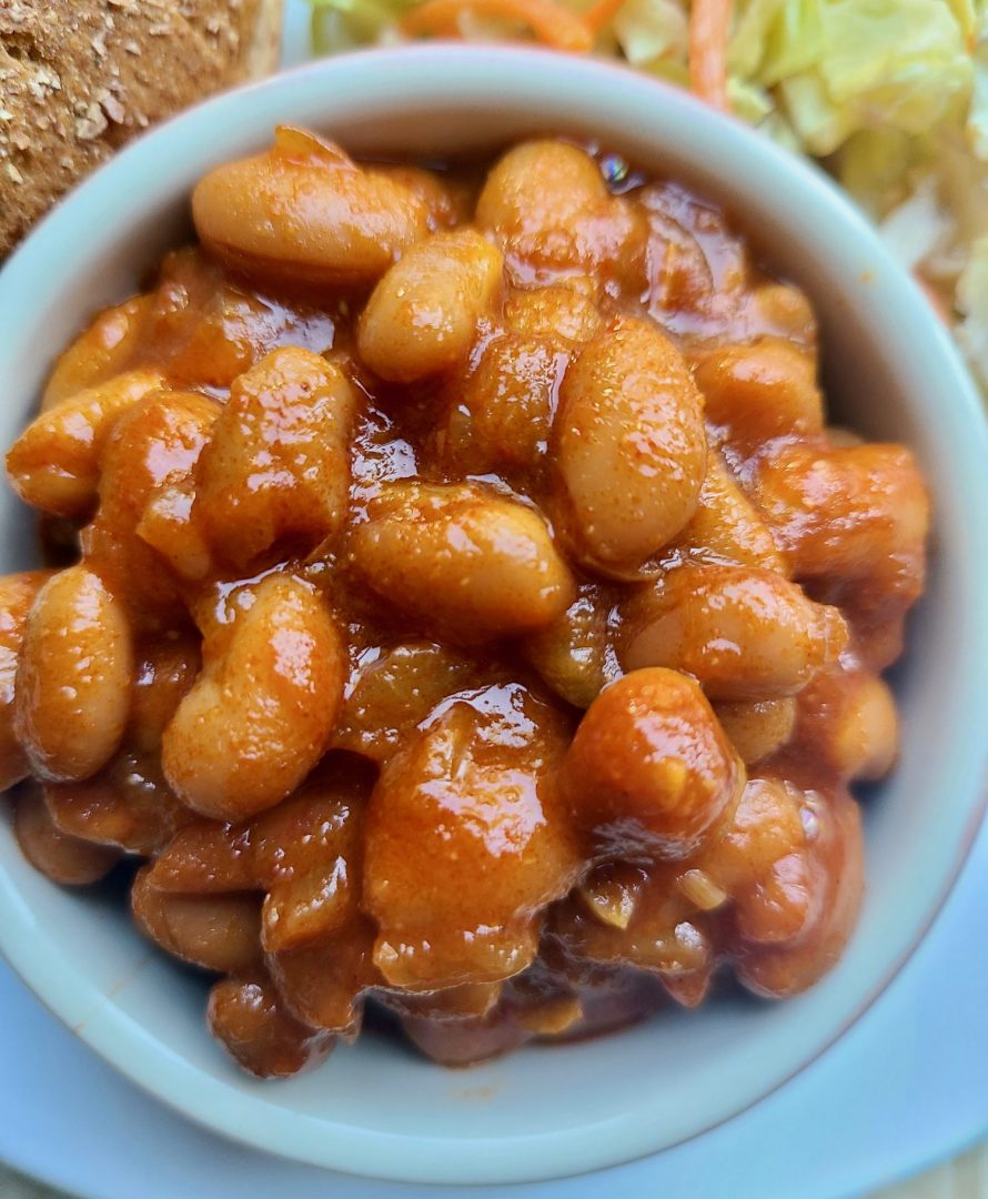 Vegan Baked Beans with Canned Beans