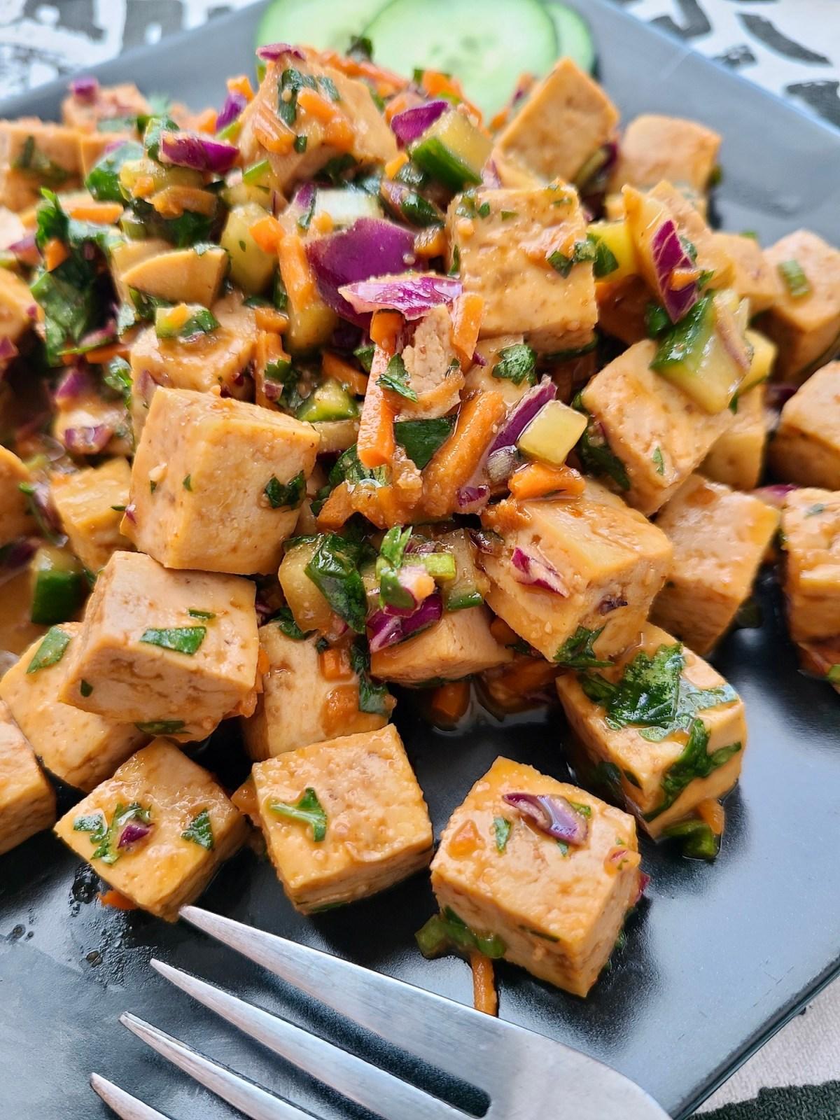 Tofu Salad Thai