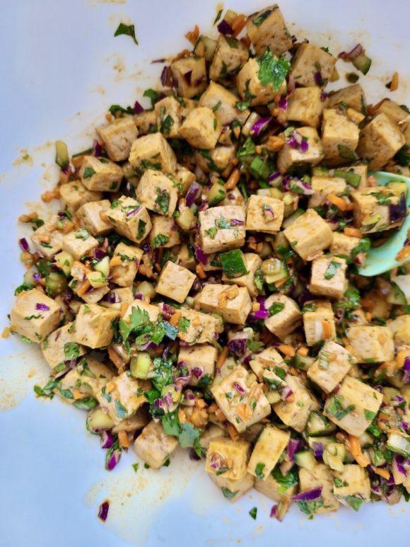 Tofu Salad Asian