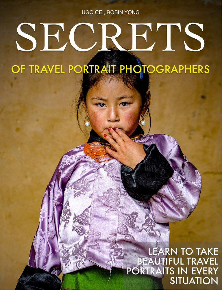 Secrets of Travel Portrait Photographers book cover