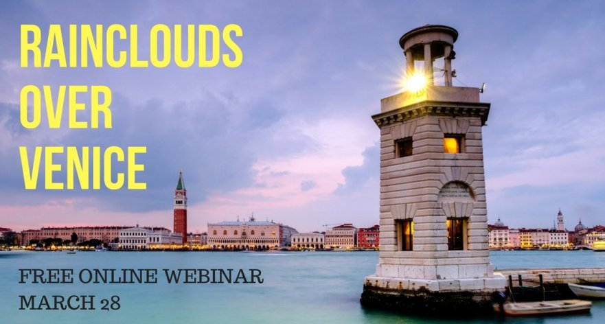 Rainclouds over Venice