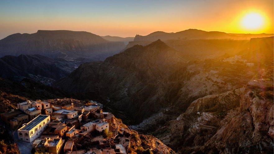 Saiq Plateau, Jabal Al Akhdar, Oman