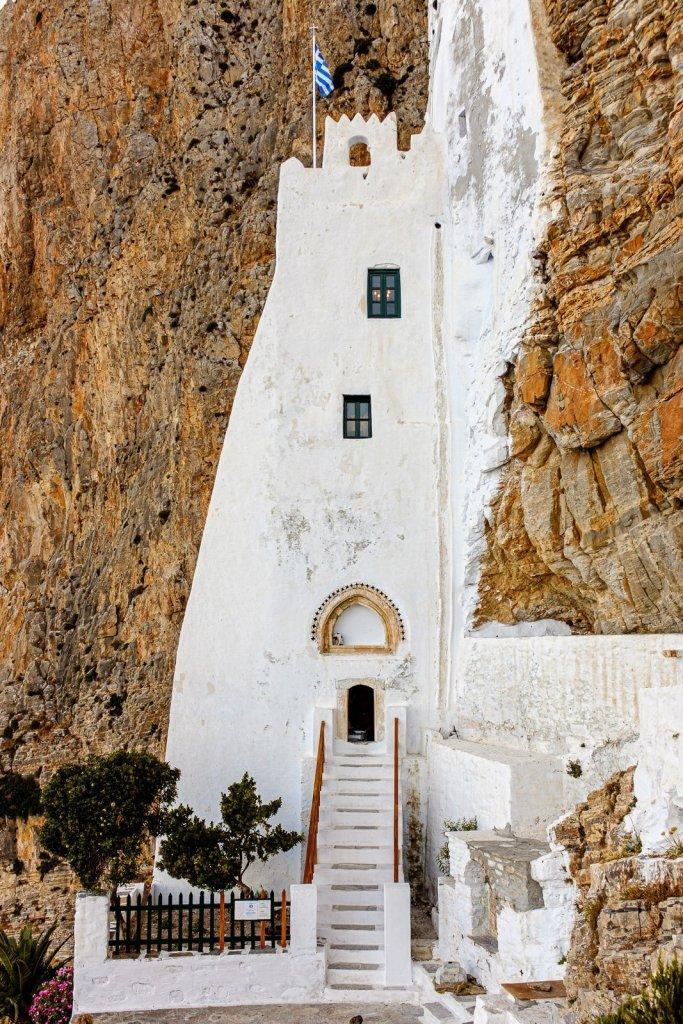 Monastery of Panagia Hozoviotissa, Amorgos, Cyclades, Greece