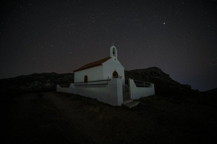 A tiny chapel above Kanevos