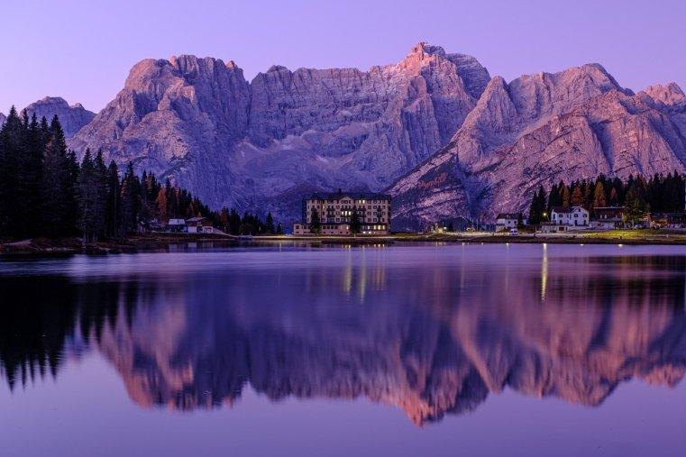 Lake Misurina and the Sorapis