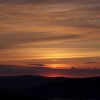 Wschód słońca nad Soliną
