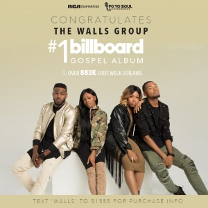 The Walls Group, The Other Side marks second #1 album debut!