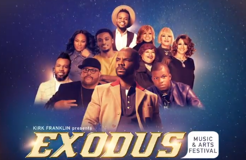TIDAL in Partnership with Live Nation UrbanTo Exclusively Livestream Kirk Franklin's Second Annual Exodus Music & Arts Festival with Fred Hammond, The Clark Sisters, Travis Greene and More