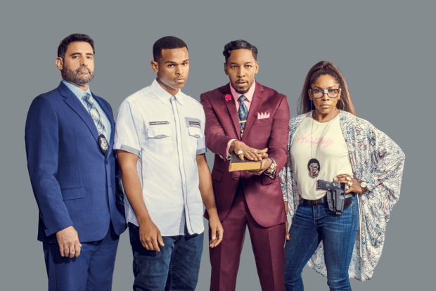 """Image result for Deitrick Haddon Stars In """"Sins Of The Father'"""